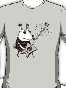 Wild Guitar Wolf  T-Shirt