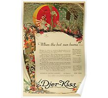 Advertisements Photoplay Magazine July through December 1919 0150 Djer Kiss Poster