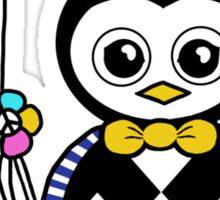 Percy the cute penguin Sticker