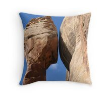 Desert spire. Throw Pillow