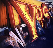 Neon Boneyard  by Steve Lovegrove