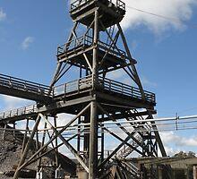 Sovereign Hill Quartz Mining Company-Poppet Head by judygal