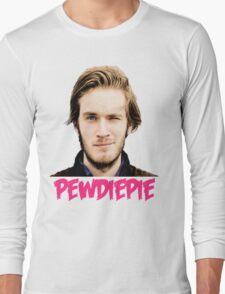 Wink Wink Pewdiepie Long Sleeve T-Shirt