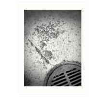 Drainage - 2 Art Print