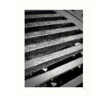 Drainage - 4 Art Print