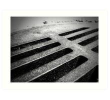 Drainage - 5 Art Print