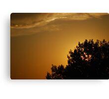 Late Evening Rooftop - Parker, Colorado Canvas Print