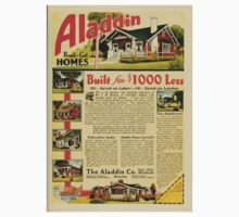 Advertisements Photoplay Magazine February through June 1921 0207 Aladdin Ready Cut Homes Baby Tee