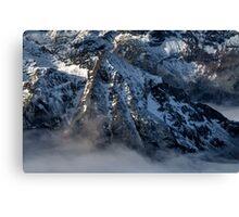 Winter on Kitzsteinhorn 35 Canvas Print