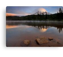 Majestic  Rainier Dawn Canvas Print