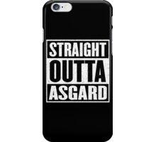 Straight Outta Asgard - Avenging the Hood - Movie Mashup - Geek Humor & Comics iPhone Case/Skin