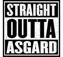 Straight Outta Asgard - Avenging the Hood - Movie Mashup - Geek Humor & Comics Photographic Print