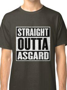 Straight Outta Asgard - Avenging the Hood - Movie Mashup - Geek Humor & Comics Classic T-Shirt