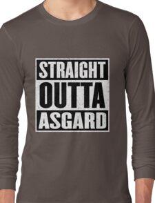 Straight Outta Asgard - Avenging the Hood - Movie Mashup - Geek Humor & Comics Long Sleeve T-Shirt
