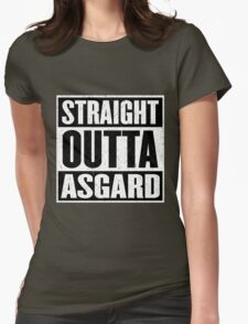 Straight Outta Asgard - Avenging the Hood - Movie Mashup - Geek Humor & Comics Womens Fitted T-Shirt
