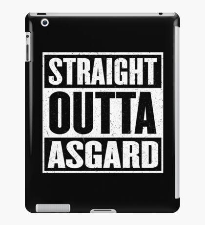 Straight Outta Asgard - Avenging the Hood - Movie Mashup - Geek Humor & Comics iPad Case/Skin