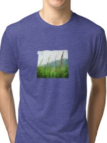 In the Meadow - JUSTART © Tri-blend T-Shirt