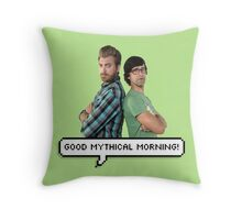 Good Mythical Morning! Throw Pillow