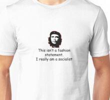 Che Black on White Unisex T-Shirt