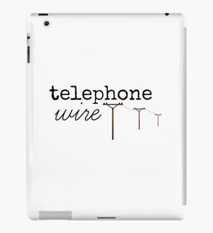 Telephone Wire iPad Case/Skin