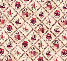 Sinterklaas inpakpapier (Dutch wrapping paper) by yoyowest