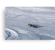 Winter on Kitzsteinhorn 41 Canvas Print