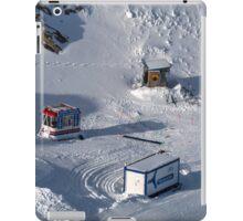 Winter on Kitzsteinhorn 42 iPad Case/Skin