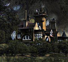 Haunted Iandra Castle  by julie anne  grattan