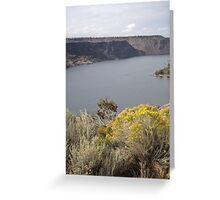 Lake Billy Chinook Greeting Card