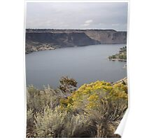 Lake Billy Chinook Poster