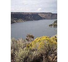Lake Billy Chinook Photographic Print