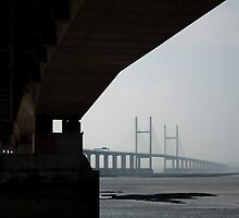 The second Severn crossing, Bristol, UK by buttonpresser