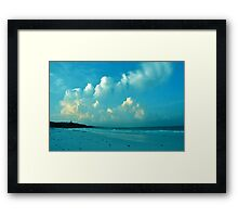 Dusk in Tulum Framed Print