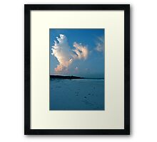 I LOVE Framed Print