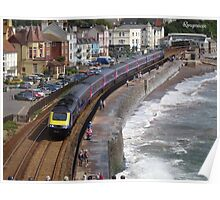 First Great Western 43192 at Dawlish Poster