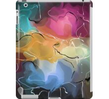 romantic pattern with roses  iPad Case/Skin