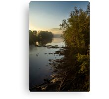 Clinch River Sunrise Canvas Print