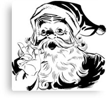 Vintage Santa claus Canvas Print