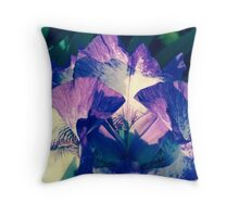 Tall Bearded Iris - German Iris Stock If you like, please purchase, try a cell phone cover thanks Throw Pillow