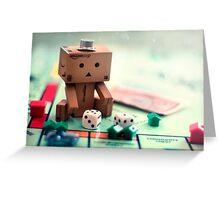Danbo Learns Monopoly Greeting Card