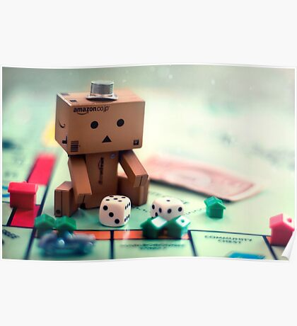 Danbo Learns Monopoly Poster