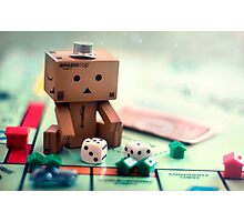 Danbo Learns Monopoly Photographic Print