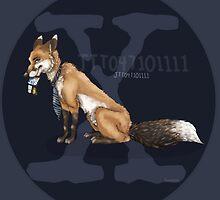 X-files, Fox Mulder, FOX  by frostwolf0303