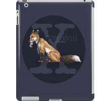 X-files, Fox Mulder, FOX  iPad Case/Skin