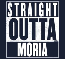 STRAIGHT OUTTA MORIA Kids Tee