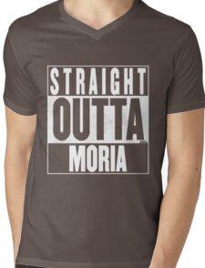 STRAIGHT OUTTA MORIA Mens V-Neck T-Shirt