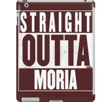 STRAIGHT OUTTA MORIA iPad Case/Skin