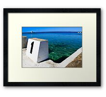 The Quiet Room Framed Print