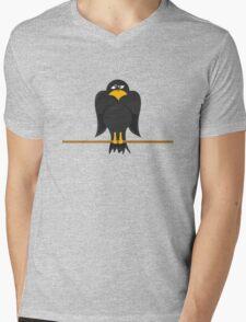 Crow Mens V-Neck T-Shirt