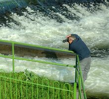 Jason Shoots The Rapids by VoluntaryRanger